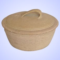 "Bernard Leach Pottery St. Ives, Large ""Standard Ware"" Lidded Casserole"