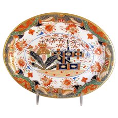 Antique Spode Imari Teapot Stand, Pattern 967,  Early 19th C