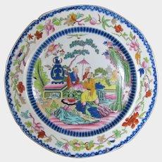 "Antique Mason's Ironstone Plate ""Mogul"", Early 19th C (#2)"