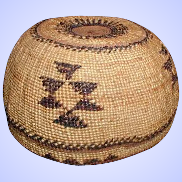 74c1ac8e9c6 Hupa Indian Basket