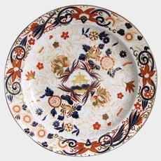 Antique & Early Wedgwood Plate, Whiteware, Japan Pattern 7, c 1808