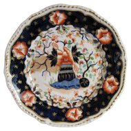 Grainger, Lee & Co.,  Worcester Plate,  English Imari, Antique Early 19th C