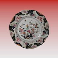 "Ridgway Small Plate, English Chinoiserie, ""Constantia"", Antique Early 19th C"