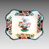 "Wedgwood Dish, Chinoiserie,  Antique c 1814, marked ""Wedgwood Only"""