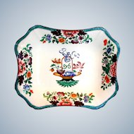 Antique Wedgwood Dish, Chinoiserie,  Early 19th C