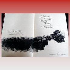 "Book: ""Chitty Chitty Bang Bang"", Ian Fleming, Burningham Illus."