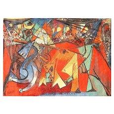 Vintage Pablo Picasso Rug by Ege 47991