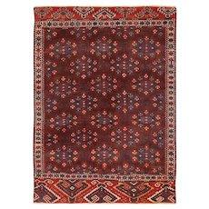 Small Antique Caucasian Bokara Rug 49789