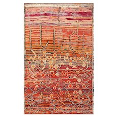 Colorful Vintage Moroccan Rug 49859