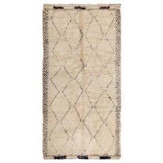 Vintage Shag Moroccan Rug