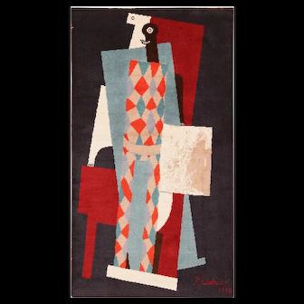 Picasso Art Rug Vintage Scandinavian 70004