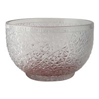 c 1870 EAPG Waste Bowl Tree of Life Pattern