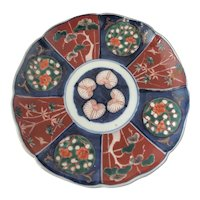 Antique Meiji Period Japanese Imari Plate