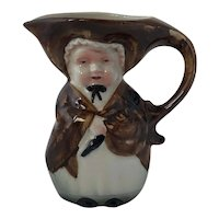 Antique Porcelain Old Lady Toby Jug