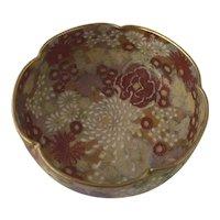 Pre 1920 Taisho Period Japanese Satsuma Mille Fleur Bowl
