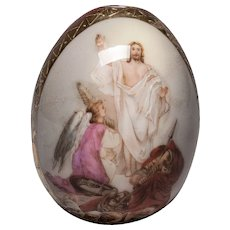 Russian Porcelain Easter Egg