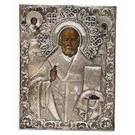 Russian Icon: St Nicholas