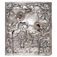 Russian Icon: Annunciation