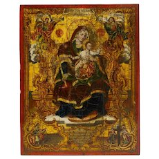 A Greek Icon of Mother of God