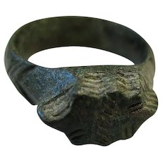 Byzantine Bronze Ring 7th -11th Century A.D.