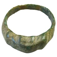 Byzantine Bronze Ring, 7th -11th century A.D.