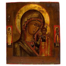 Russian Icon: Kazanskaya Mother Of God