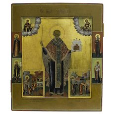 Russian icon of St. Nicholas