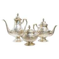Silver-Gilt Tea & Coffee Set