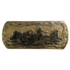 Russian Silver & Niello Box, 18th c.