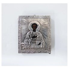 Russian Icon of St. Pantelimon