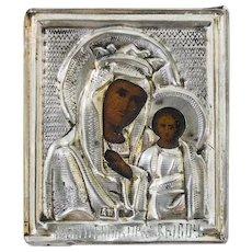 Russian Icon of Kazanskaya Mother of God