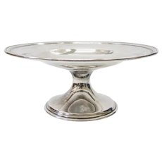 American Sterling Silver Pedestal Plate by the BBB