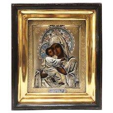 Russian Icon of Vladimirskaya Mother of God