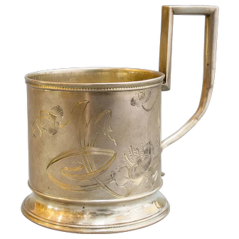 Russian Silver Tea Cup Holder