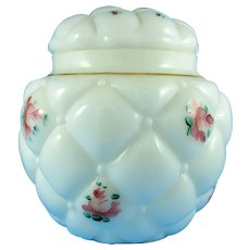 Consolidated Glass Biscuit Jar