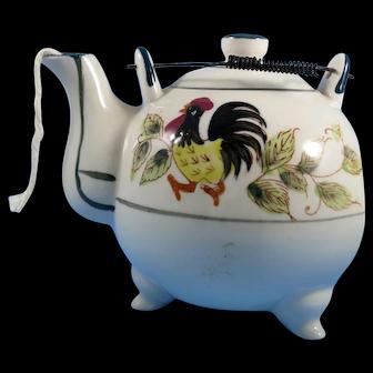 Vintage ceramic Tea Pot String Holder