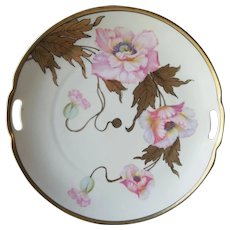 Hand Painted Prussian plate by Paul Donath Silesia