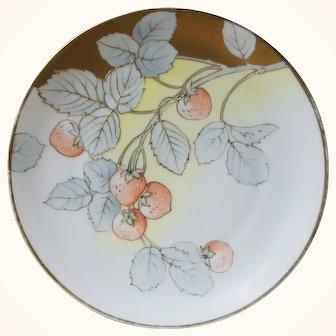 Turn of the century Bavarian Tirschenreuth Strawberry Plate