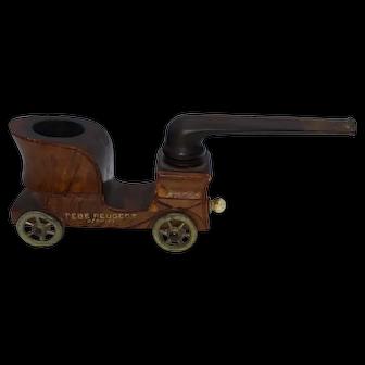 Machine-shaped Pipe