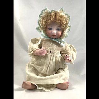 "Armand Marseille 14"" Bisque Head Baby Doll"