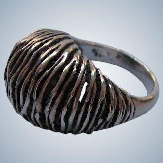 Modernist Sterling Ring by Joachim S'Paliu