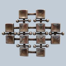Uni David-Andersen Geometric Pin, Marianne Berg Design