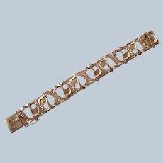 Norwegian Sterling Brutalist Bracelet by Juhls