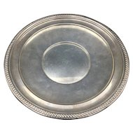 Large Sterling Silver Plate