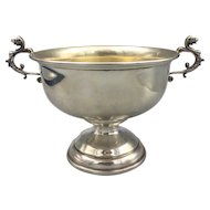 Sterling Silver Gold-Washed Bowl