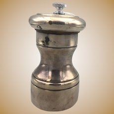 Sterling Silver Pepper Grinder