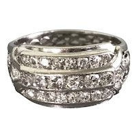 Platinum Art Deco Period Diamond Ring
