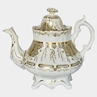 Mid 19th century antiques rococo teapot pattern 2/489