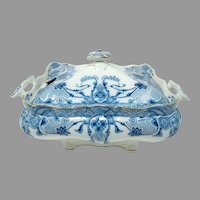 Antique Burgess & Leigh RALEIGH Tureen w/Lid