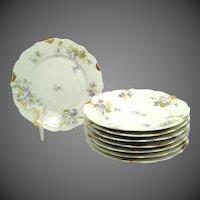 19th Century C. Ahrenfeldt Luncheon Plates